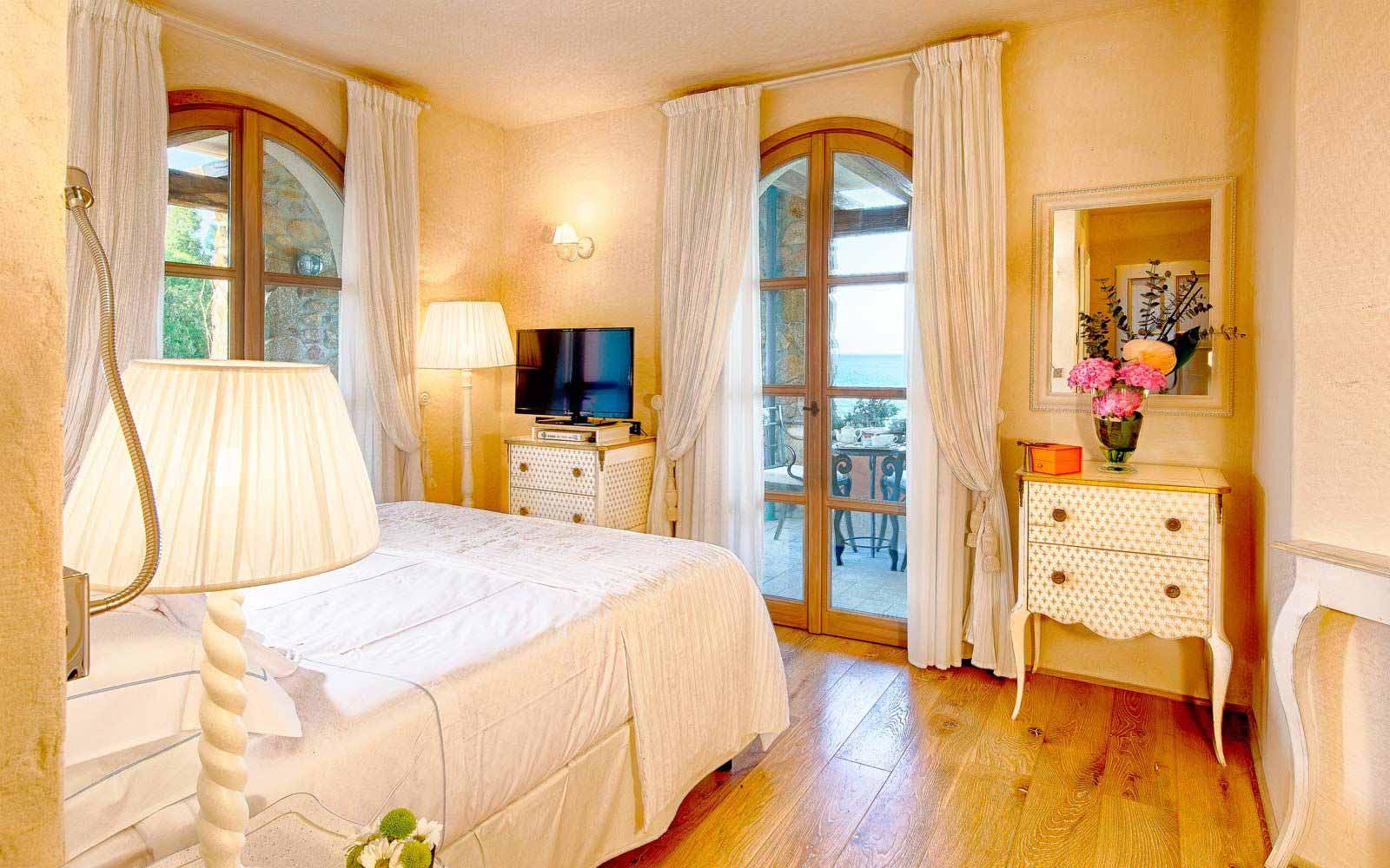 Deluxe room at the Hotel Villa del Re