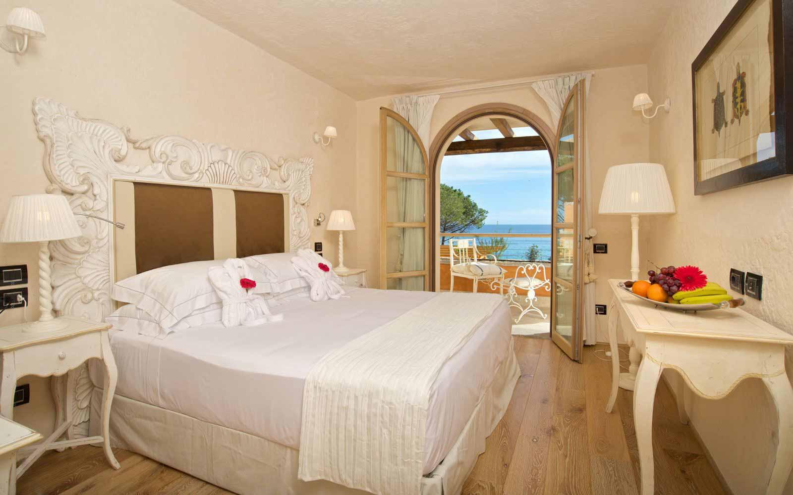 Superior room at theHotel Villa del Re