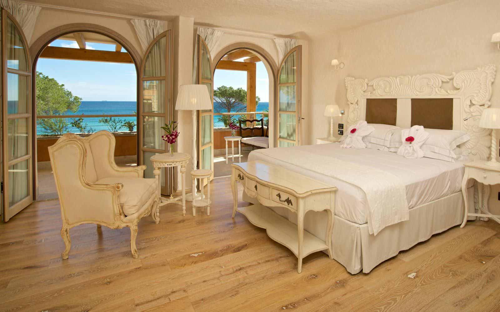 Junior suite at the Hotel Villa del Re