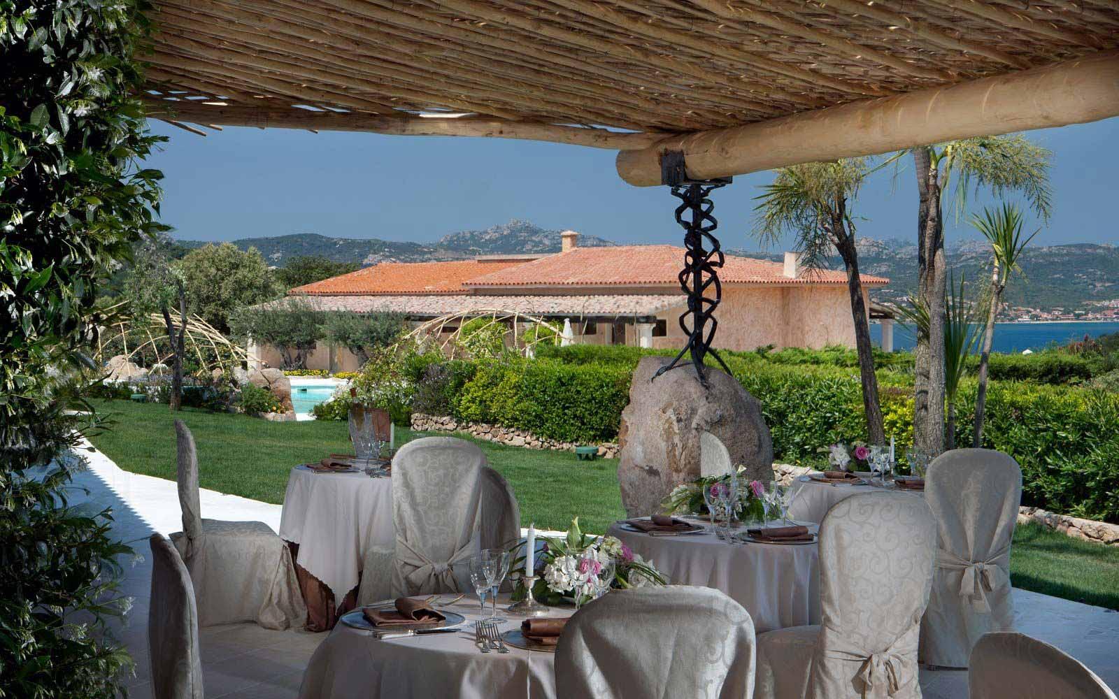 Restaurant at Hotel Pulicinu