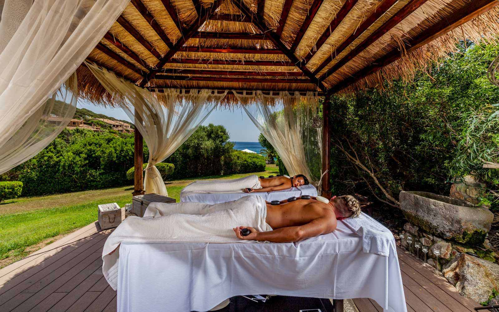 Massage tratments at Hotel Cala Caterina