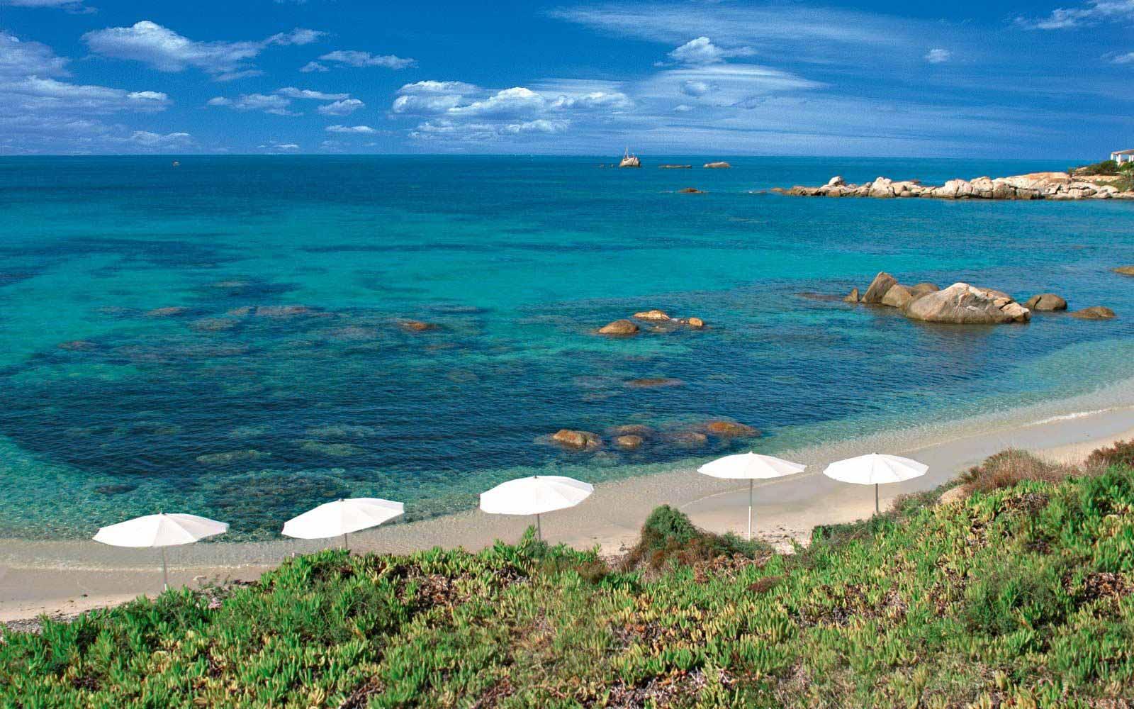 Beach at Hotel Cala Caterina
