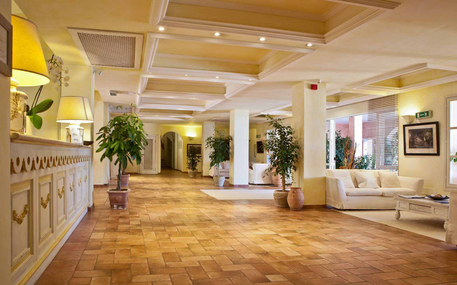 Reception at Hotel Cala Caterina