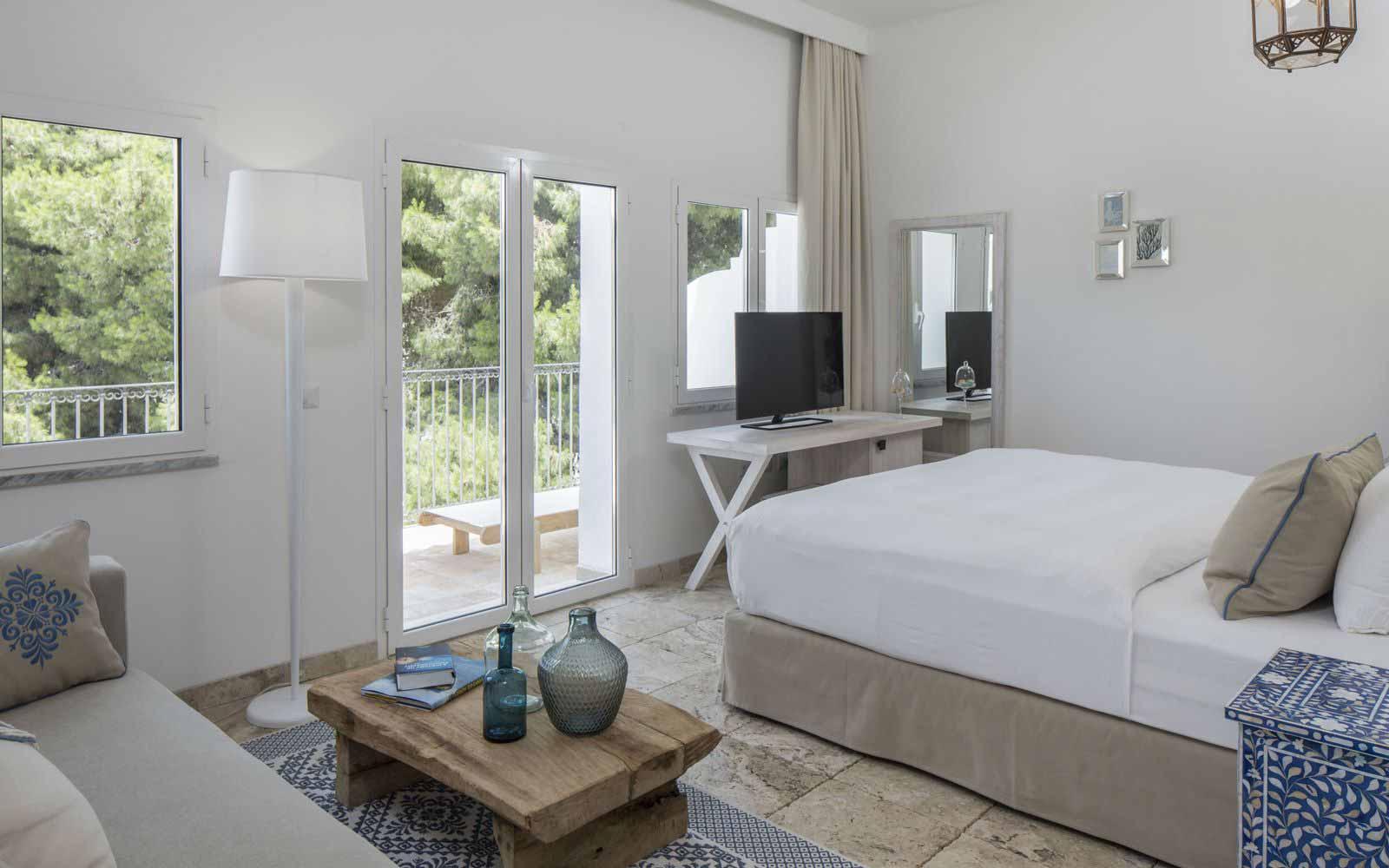 Standard room at Falkensteiner Resort Capo Boi