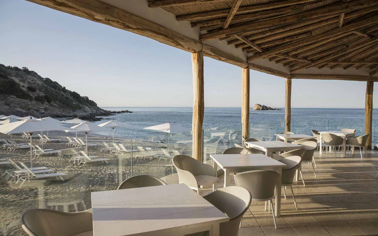 Beach Restaurant at Falkensteiner Resort Capo Boi