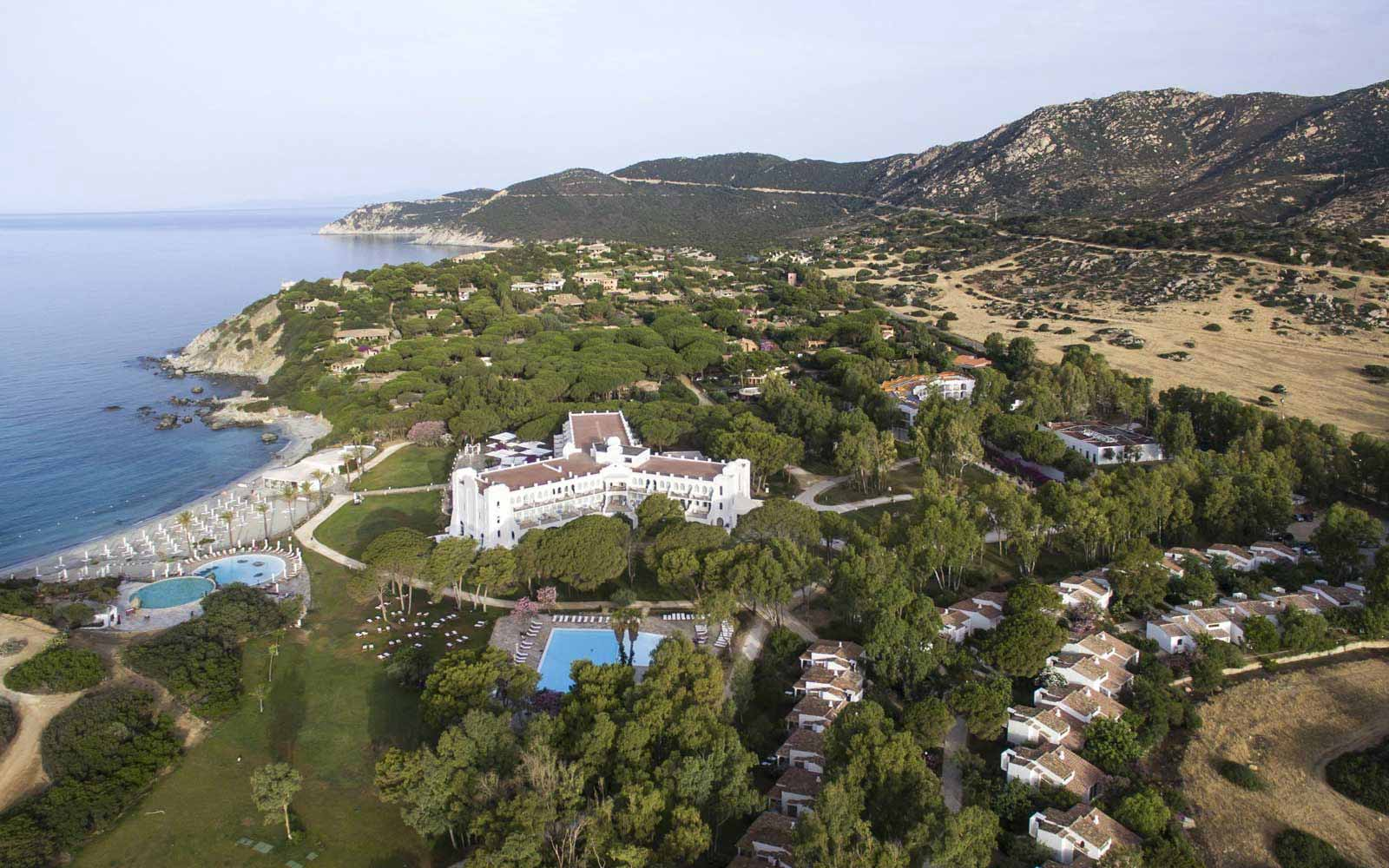 Aerial view at Falkensteiner Resort Capo Boi