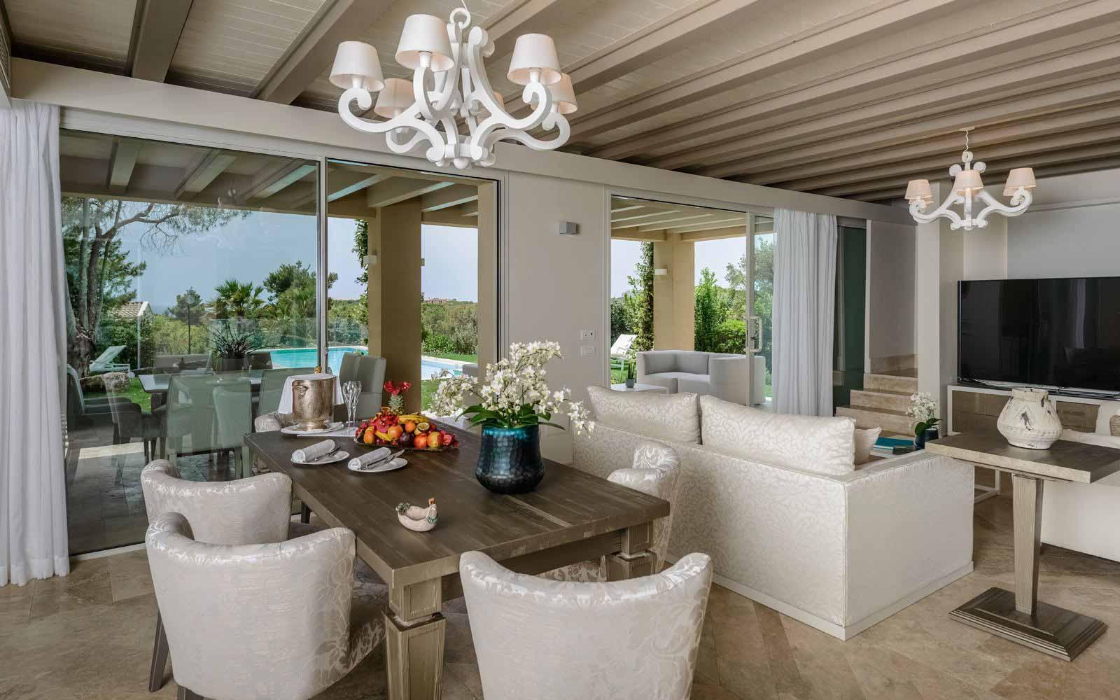 Villa Margherita interior at Forte Village Resort