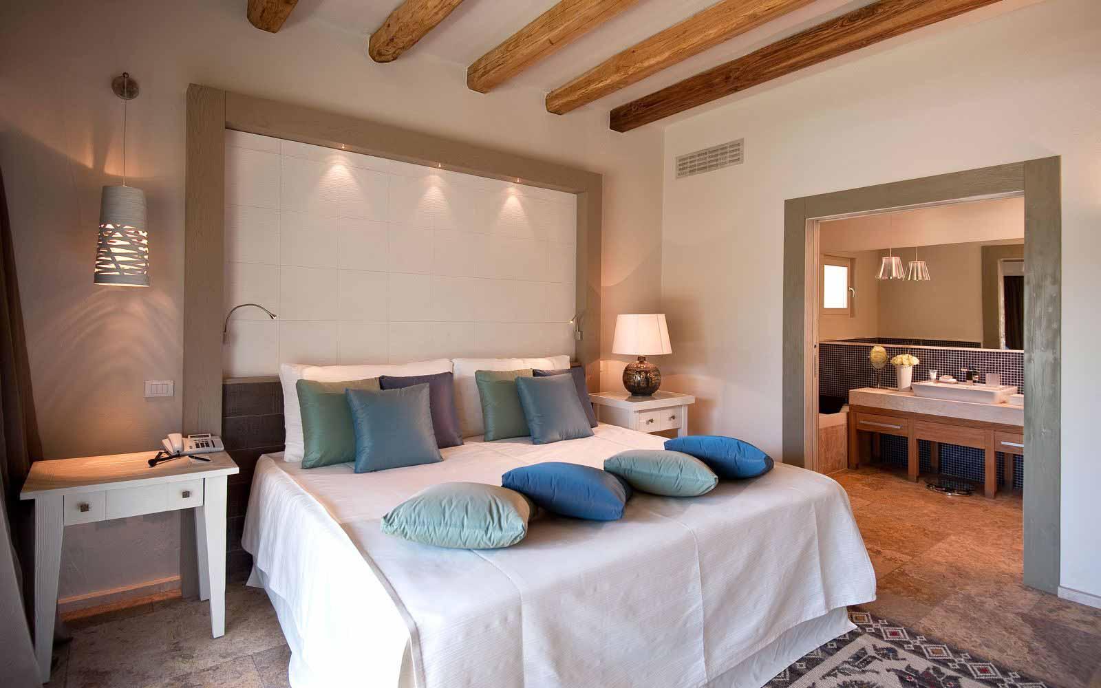 Villa Lidia bedroom at Forte Village Resort