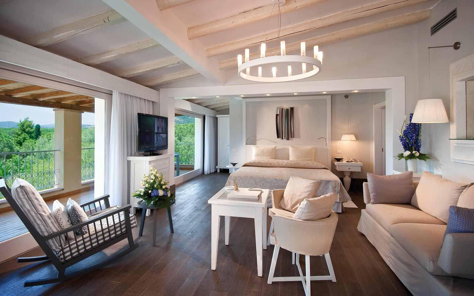Villa Lavinia living room at Forte Village Resort