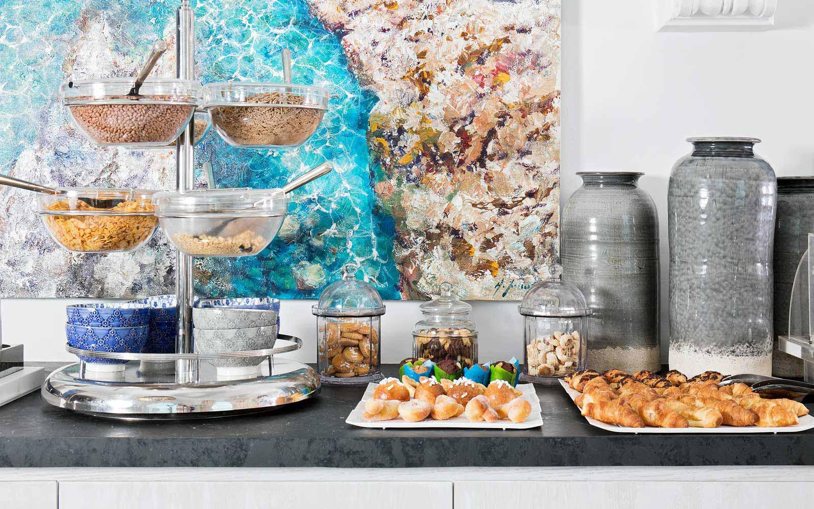 Breakfast at Hotel Villa Franca