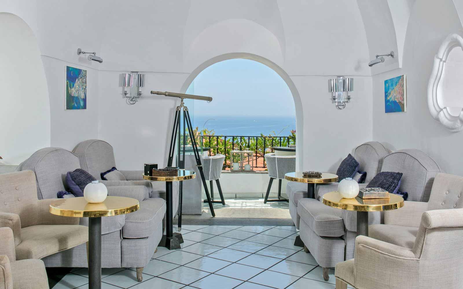 Internal space at Hotel Villa Franca