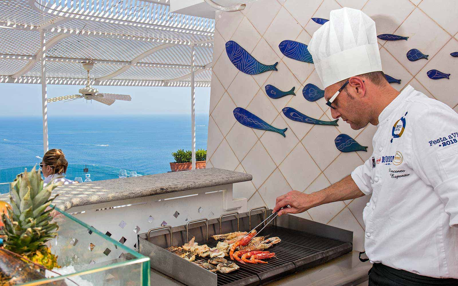 Galli Grill at Hotel Villa Franca