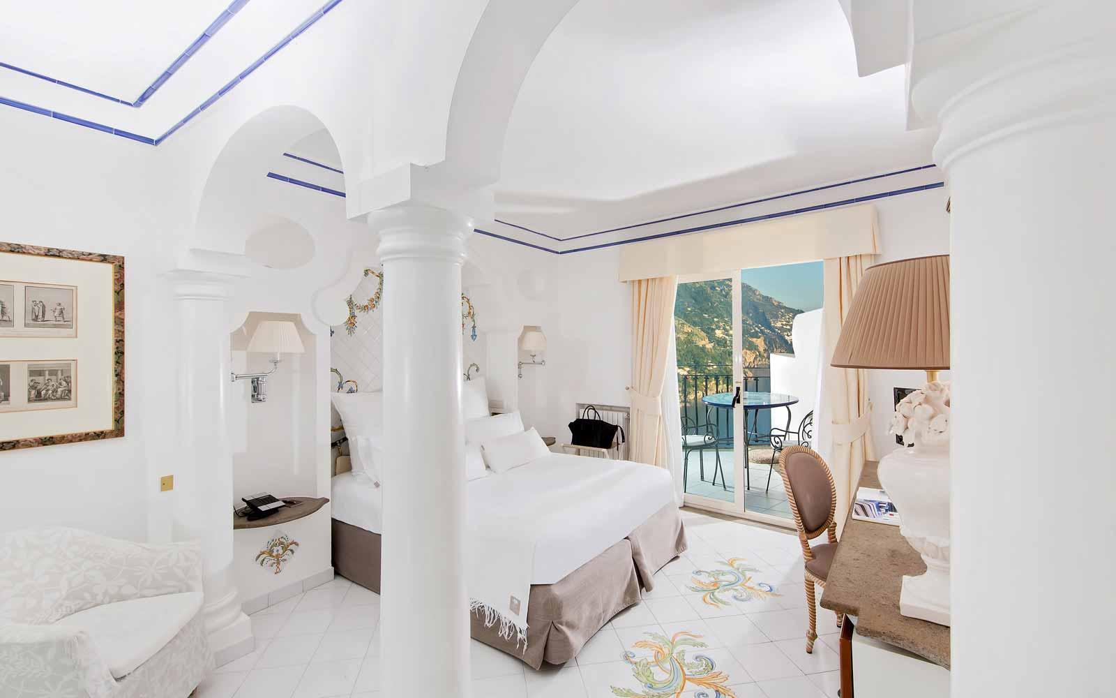 Room at Hotel Villa Franca