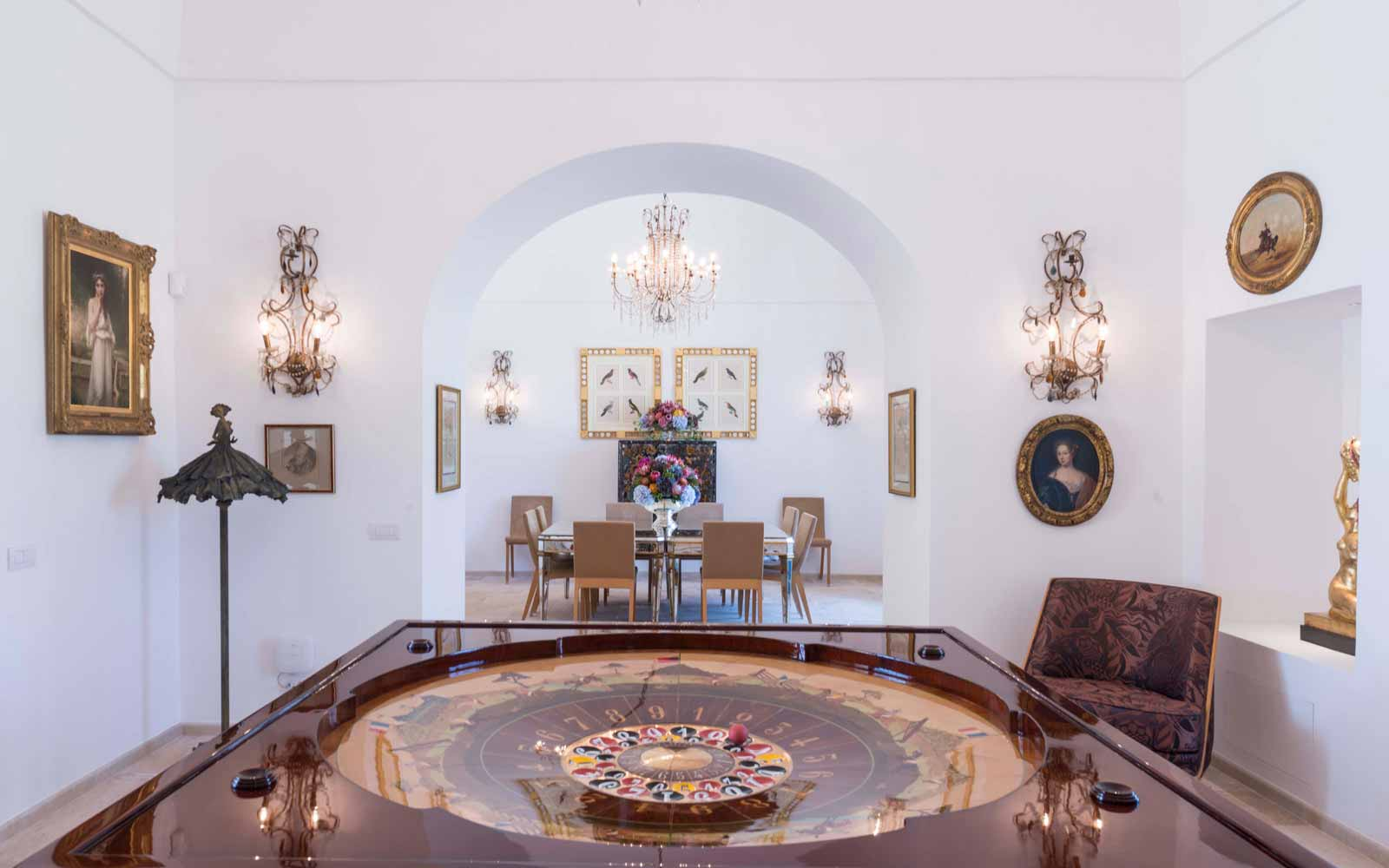 Interior at La Residenza of Masseria Pettolecchia