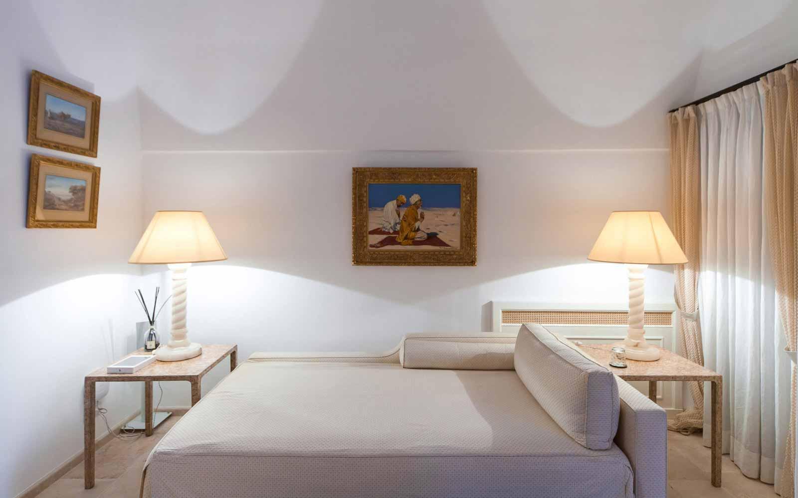 Living area at La Residenza of Masseria Pettolecchia