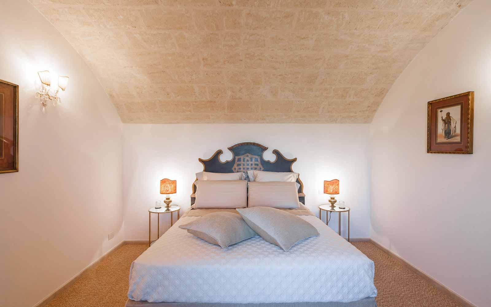 Bedroom at La Residenza of Masseria Pettolecchia