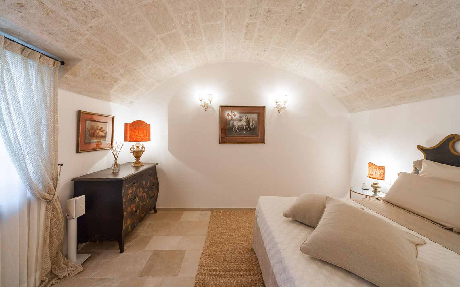 Bedroom at La Residenza of Masseria Pettolecchia