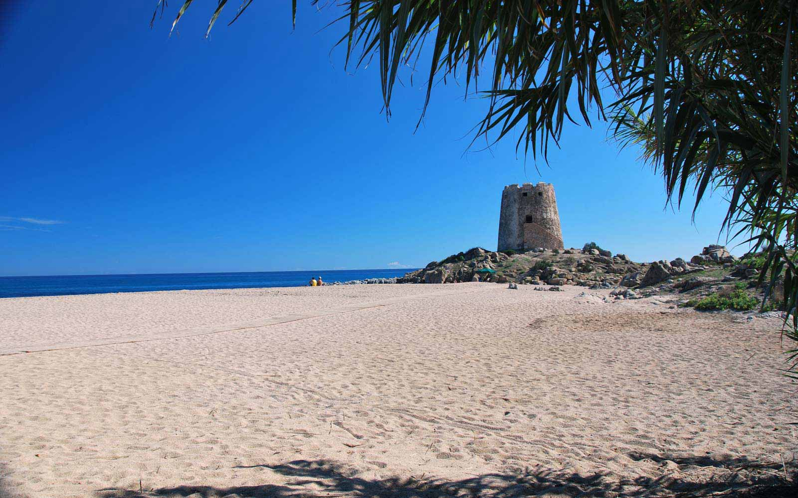 Torre di Bari beach close to Galanias Hotel