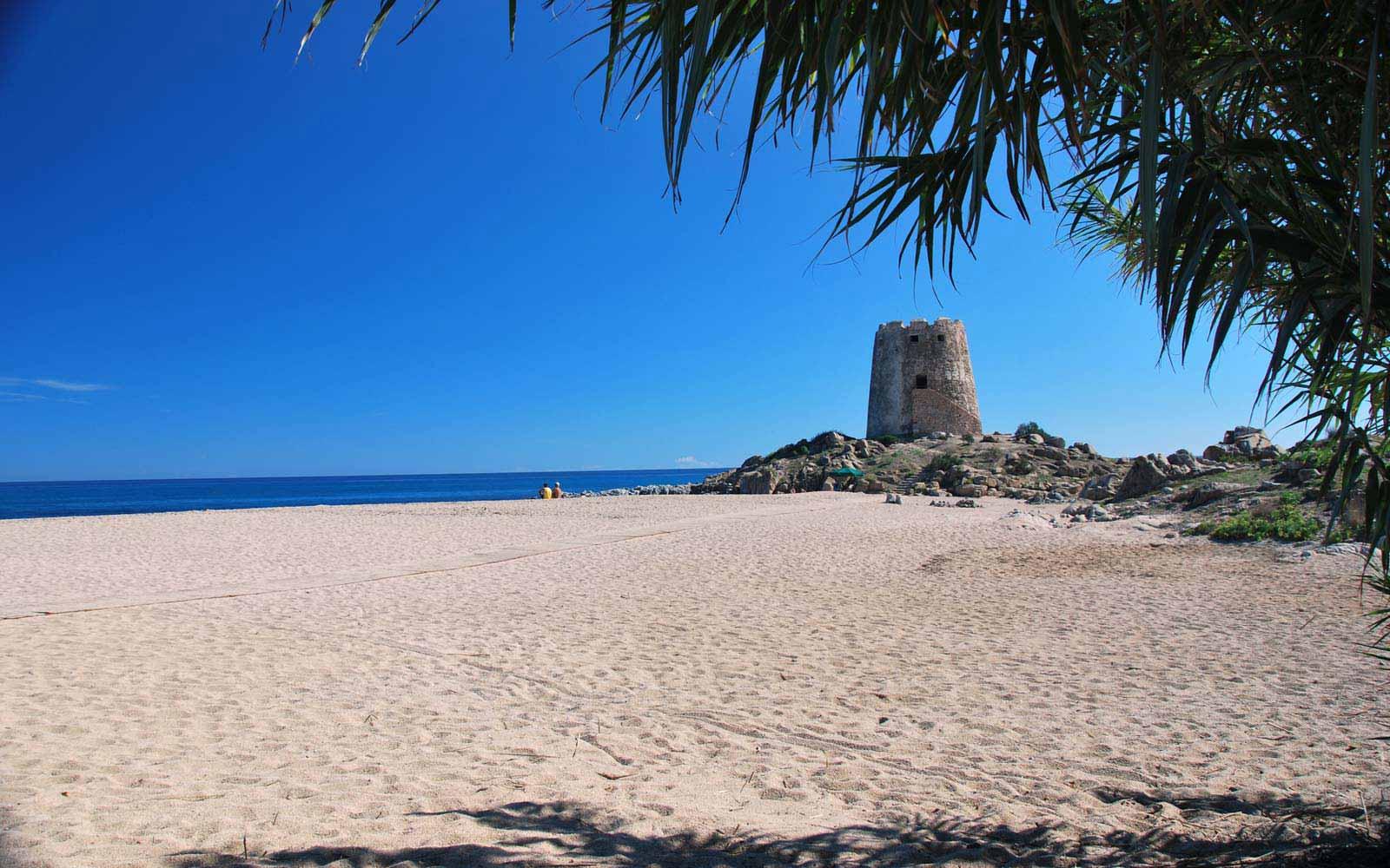 Torre di Bari beach close to Galanias Hotel