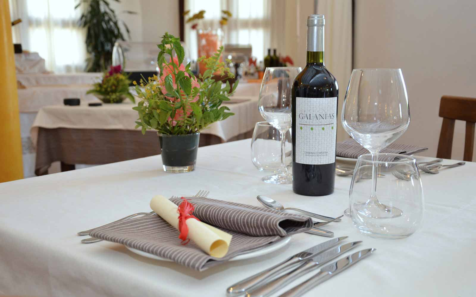 Authentical cuisine in Galanias Hotel