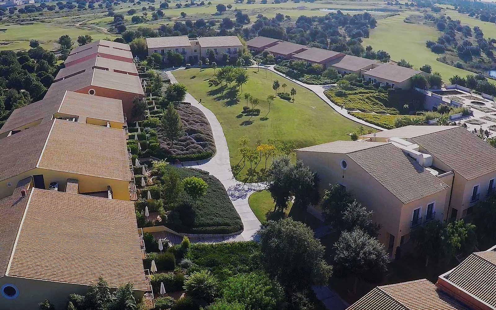 Aerial view at Donnafugata Golf Resort & Spa