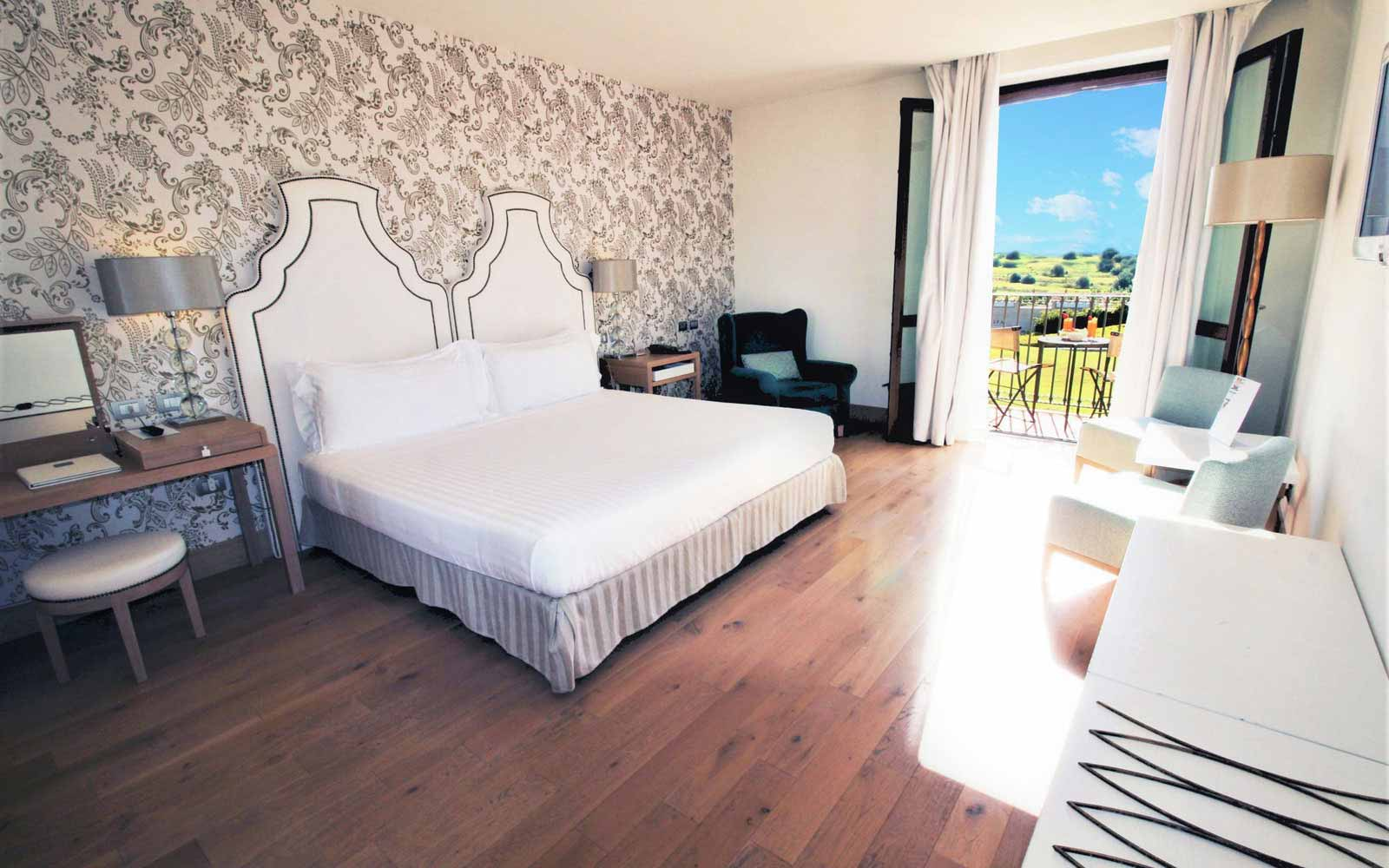 Deluxe with balcony room at Donnafugata Golf Resort & Spa