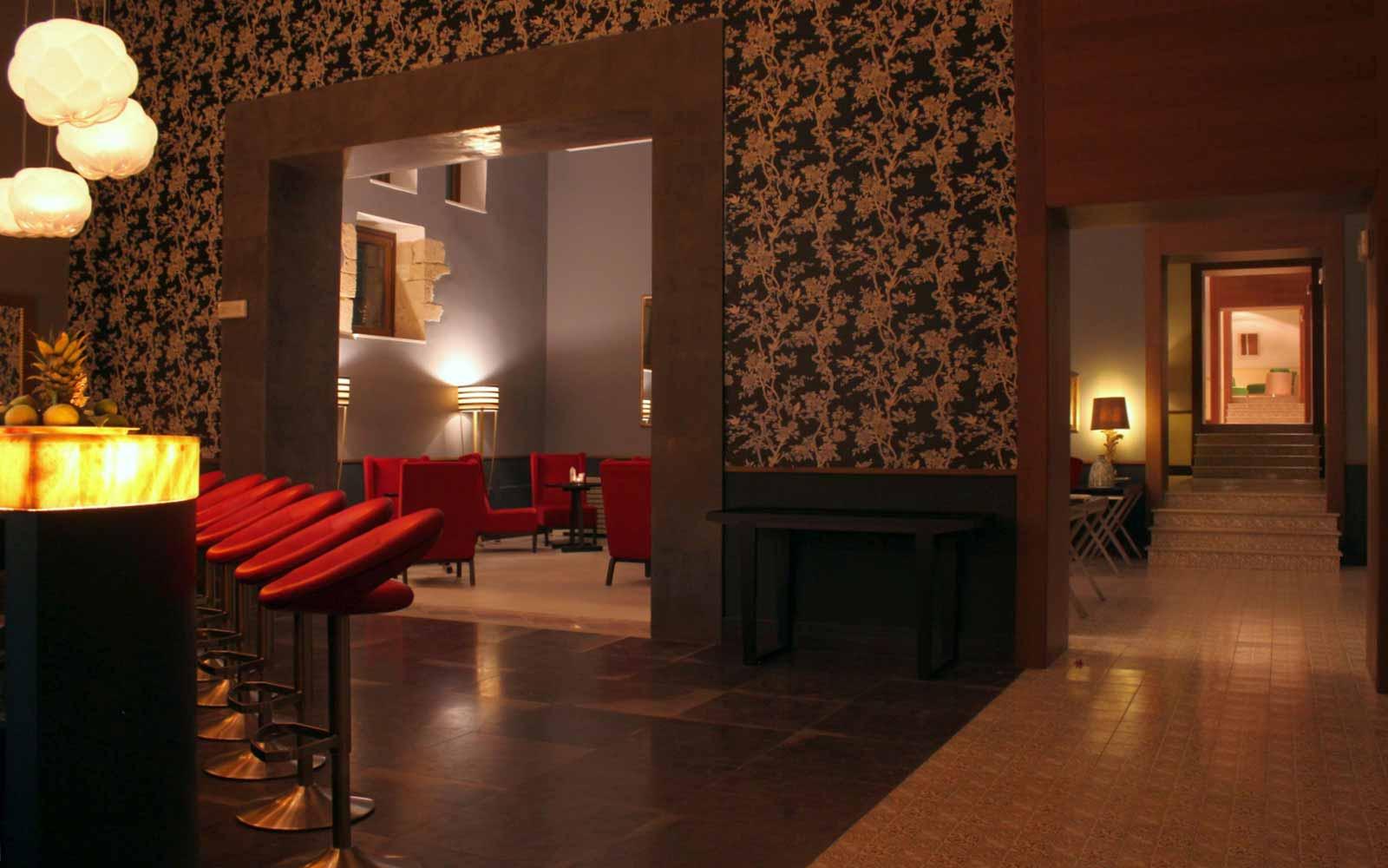 Night bar at Donnafugata Golf Resort & Spa