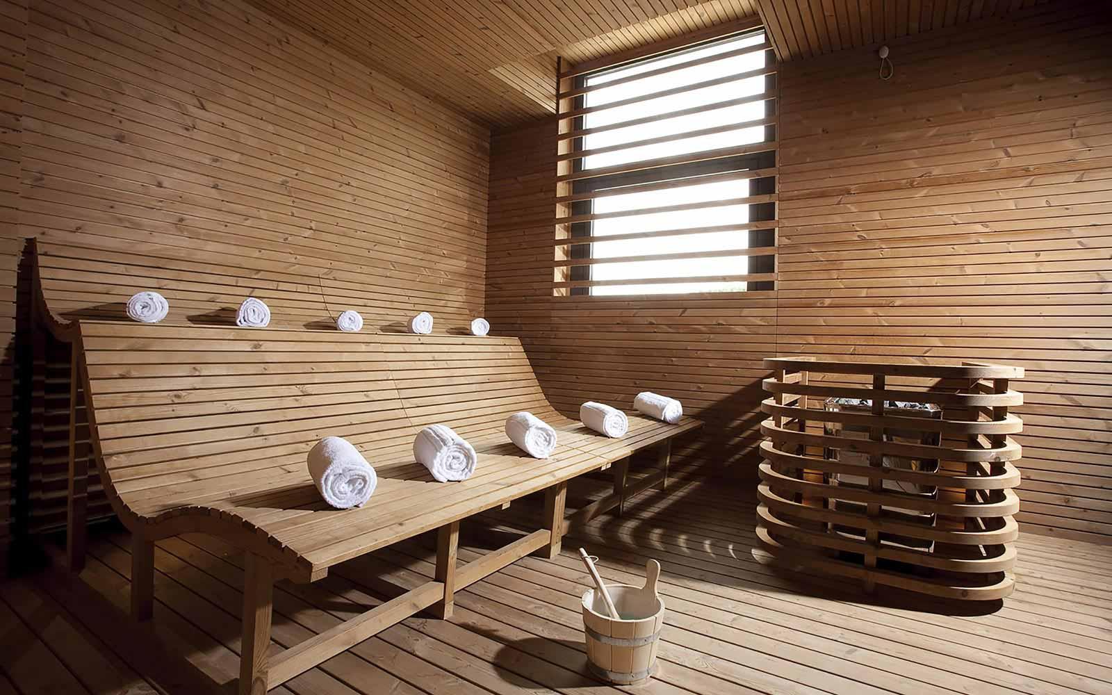 Sauna at Donnafugata Golf Resort & Spa