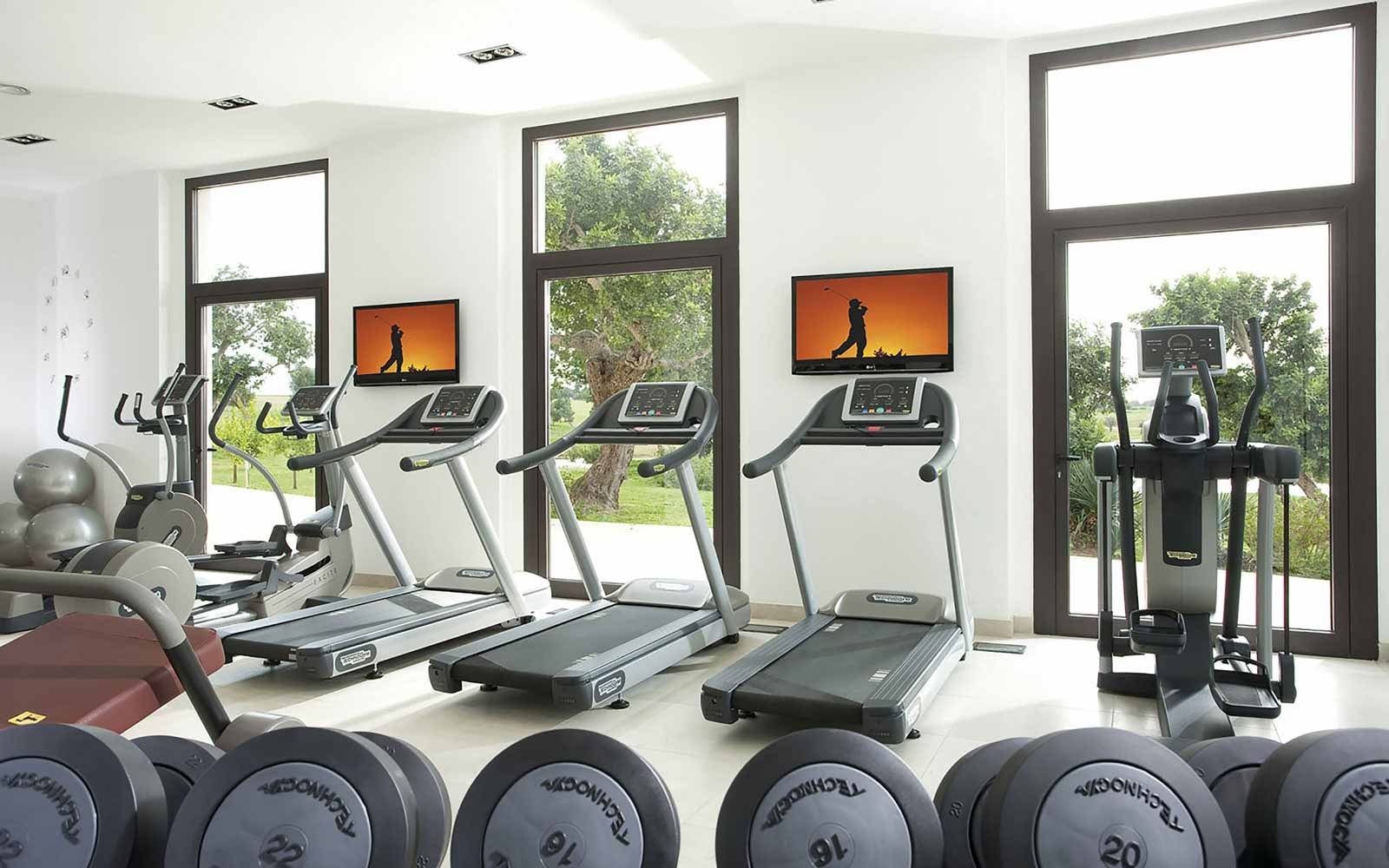 Gym at Donnafugata Golf Resort & Spa