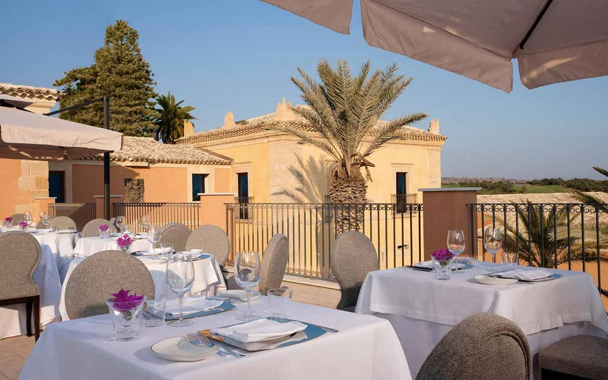 Il Carrubo restaurant at Donnafugata Golf Resort & Spa