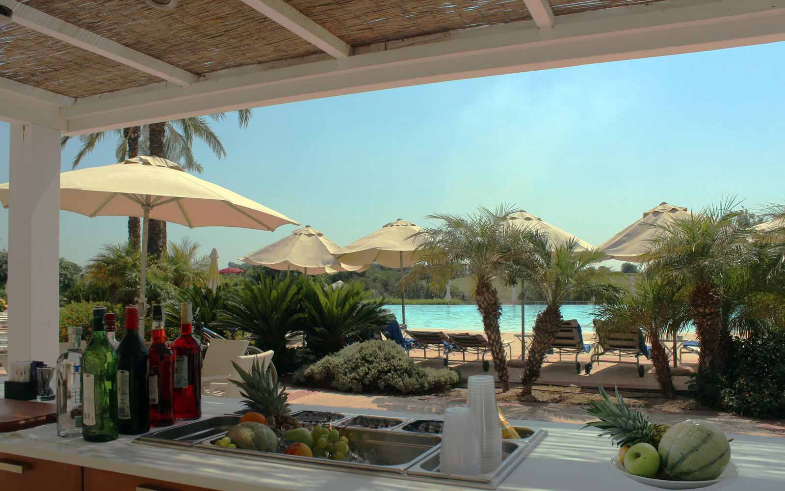 Pool bar at Donnafugata Golf Resort & Spa