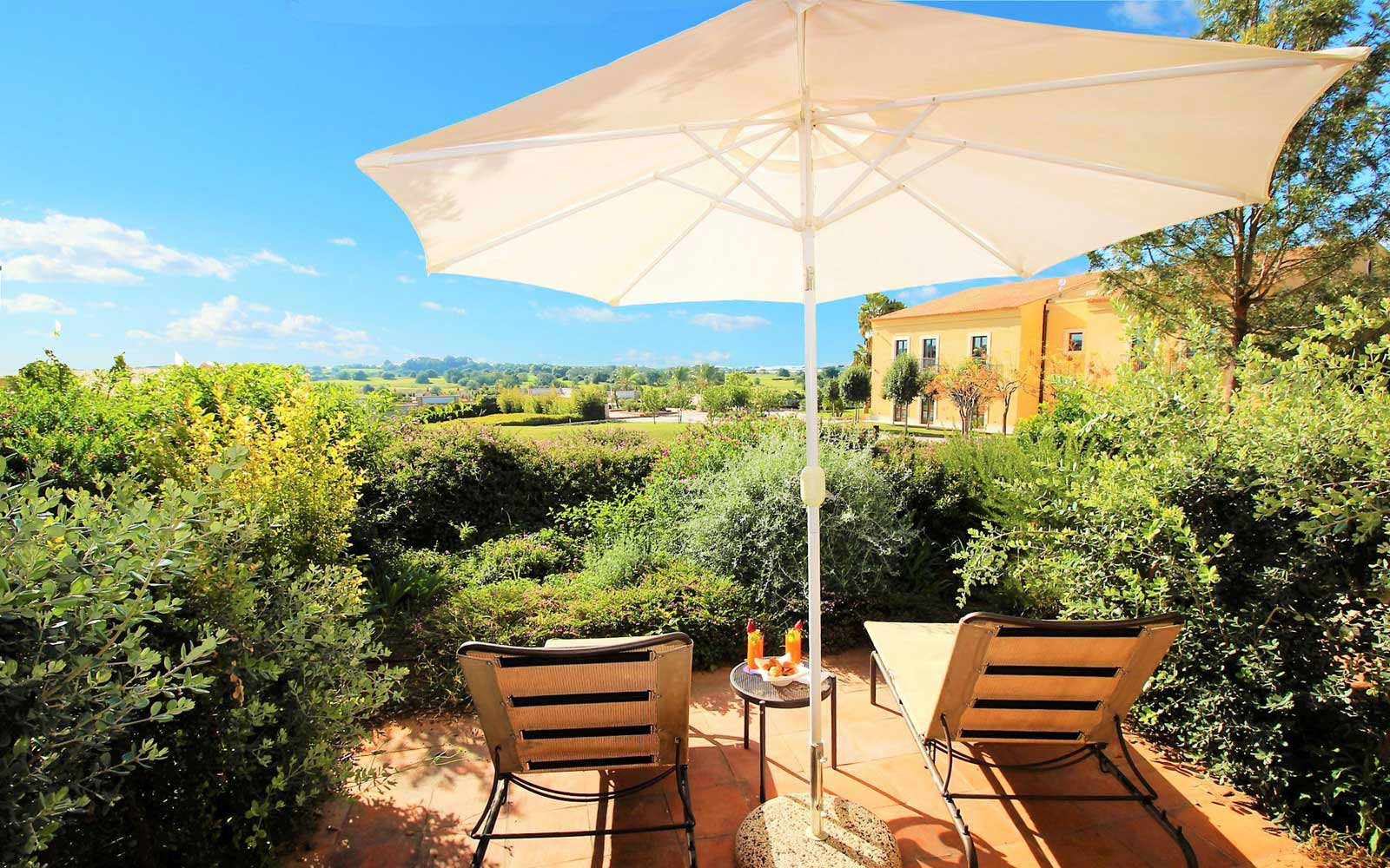 Premium with patio at Donnafugata Golf Resort & Spa