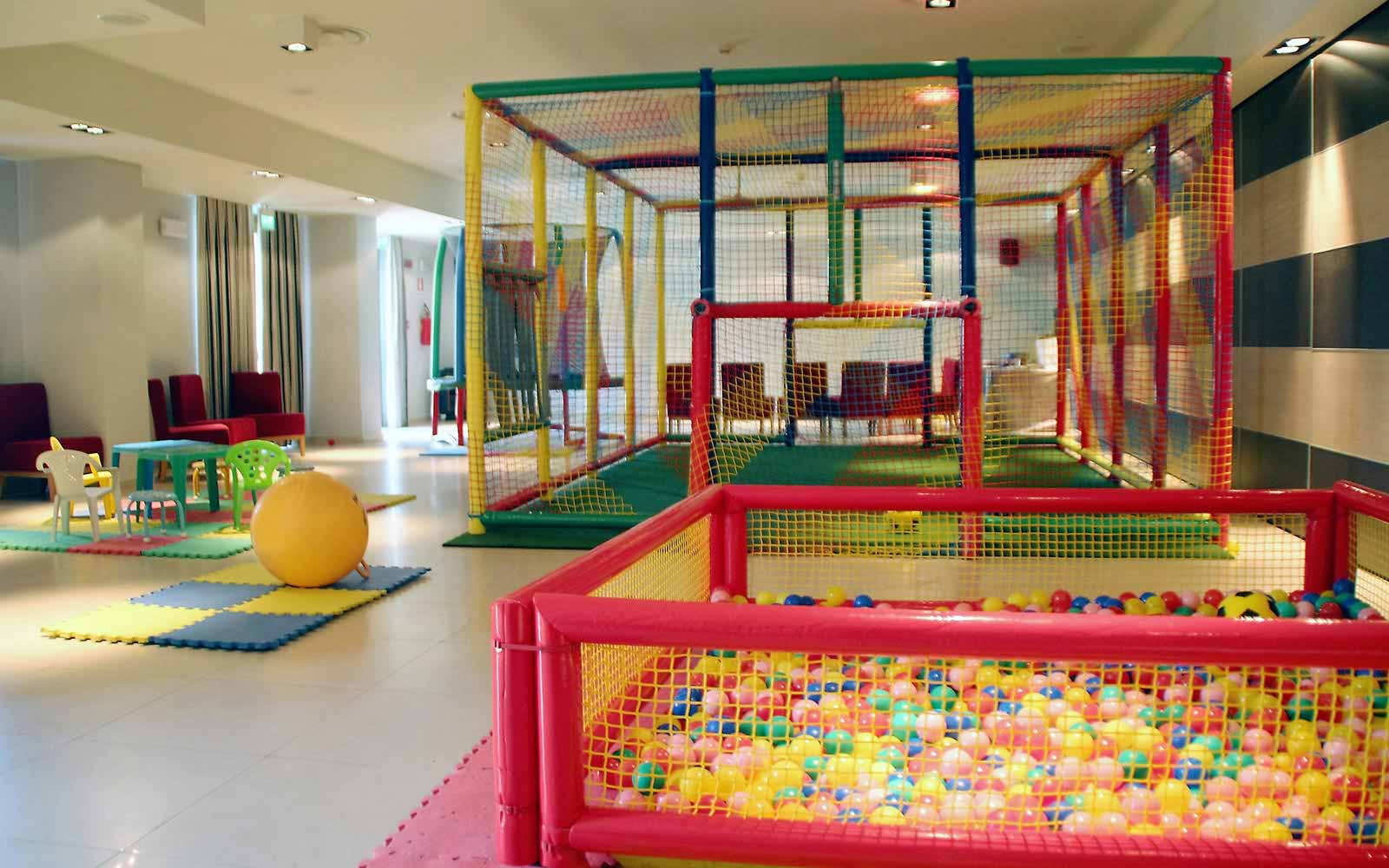 Children playground at Donnafugata Golf Resort & Spa