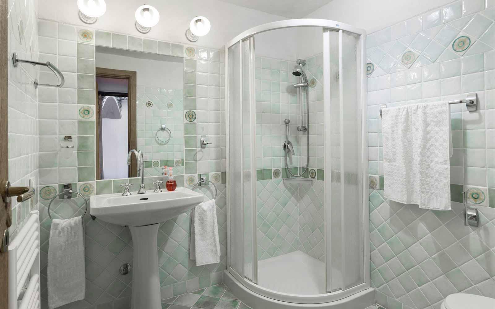 Bathroom at Villa Stella del Nord