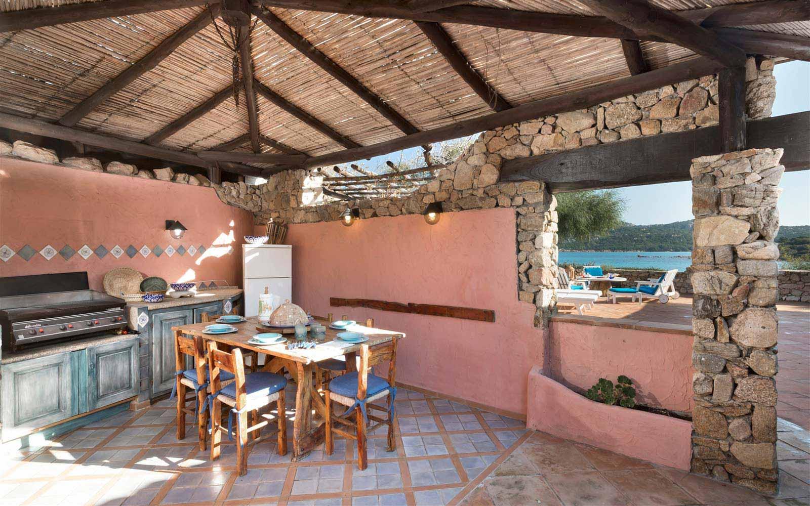 Barbecue area at Villa Stella del Nord