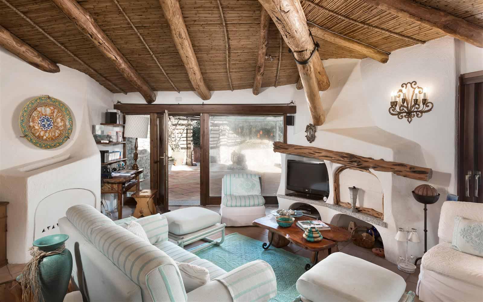 Living room at Villa Stella del Nord