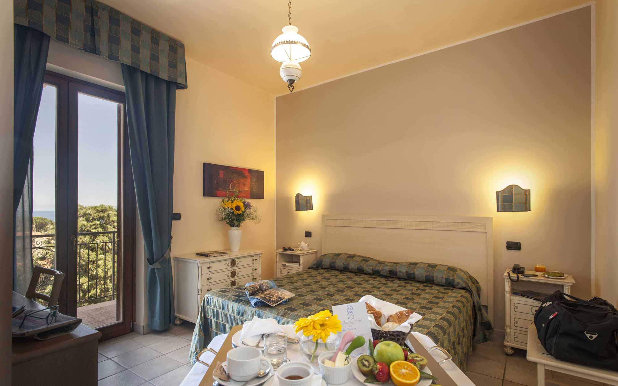 Room interior at Baia del Capitano