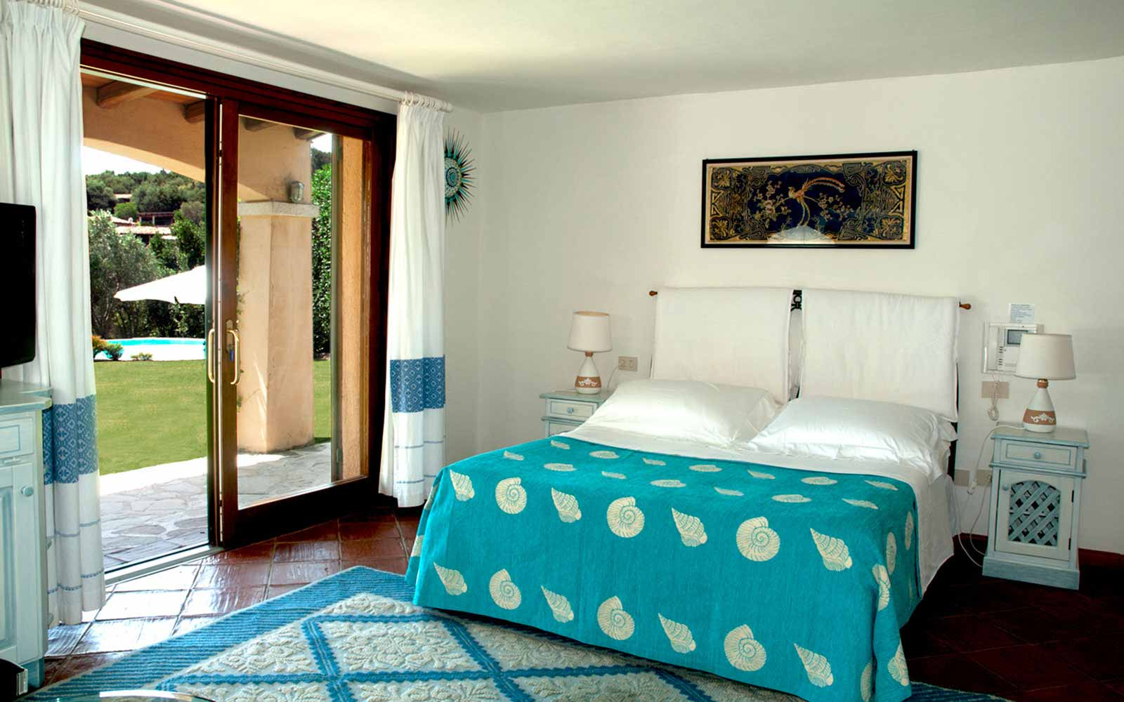 Bedroom at Villa Pedrabianca
