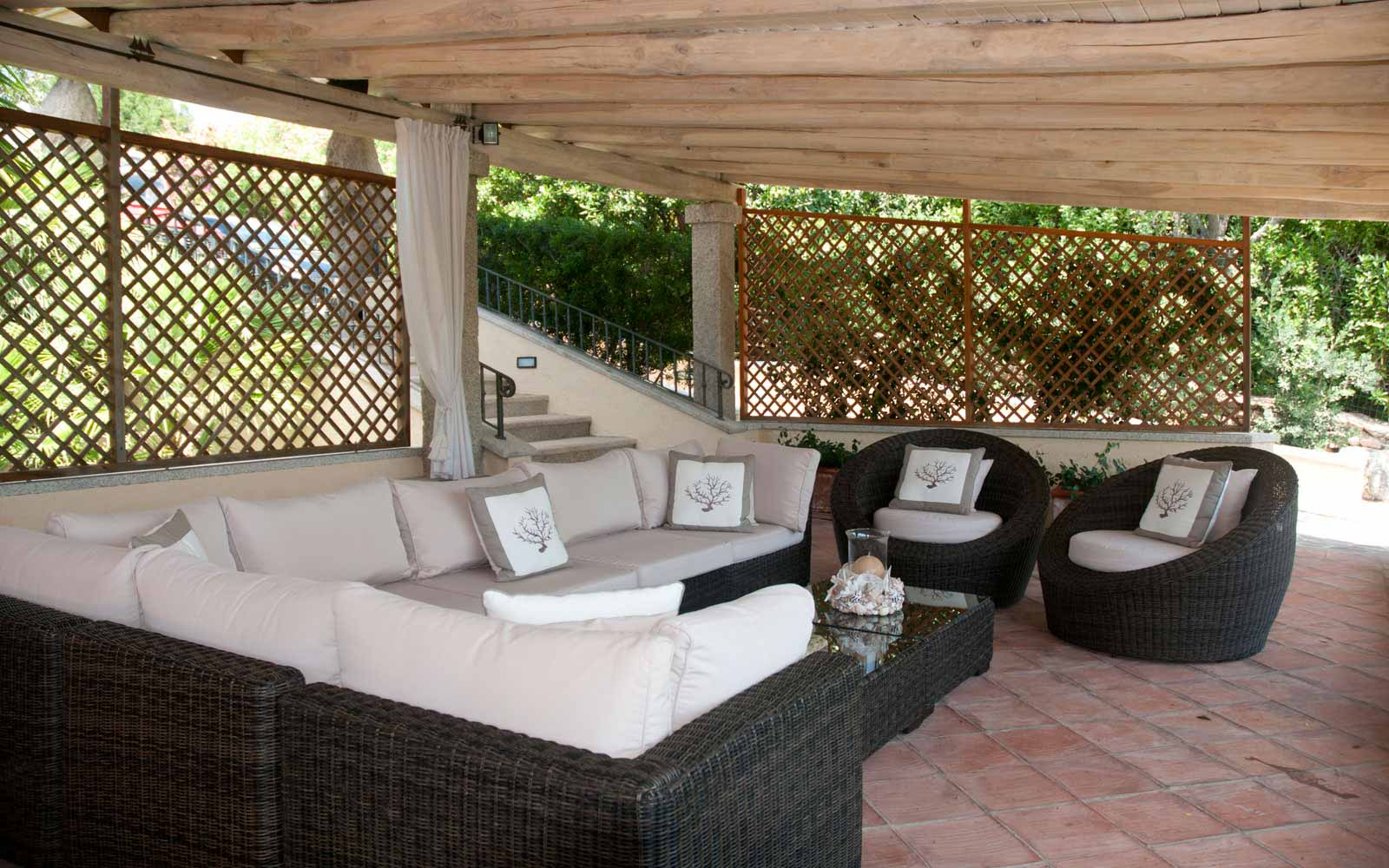 The Veranda at Villa Pedrabianca