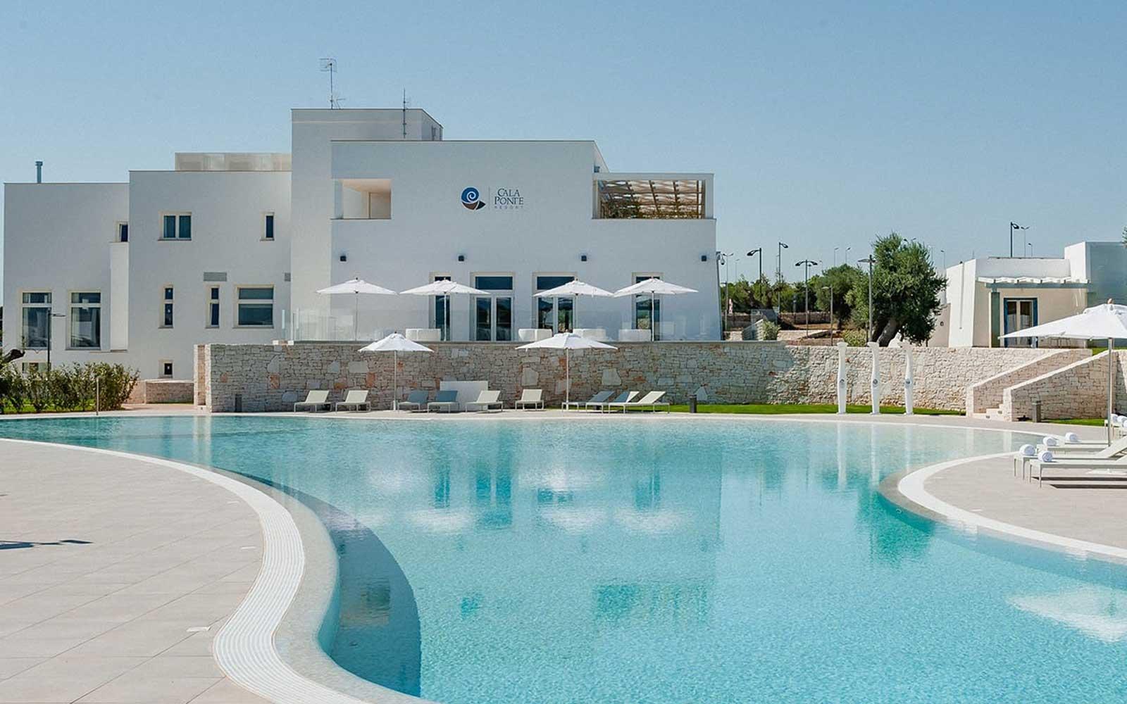 Pool at Cala Ponte Hotel