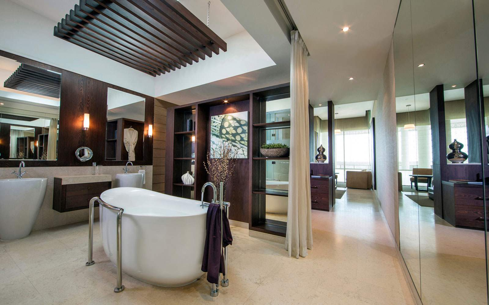 Melia Desert Palm Bathroom Suite