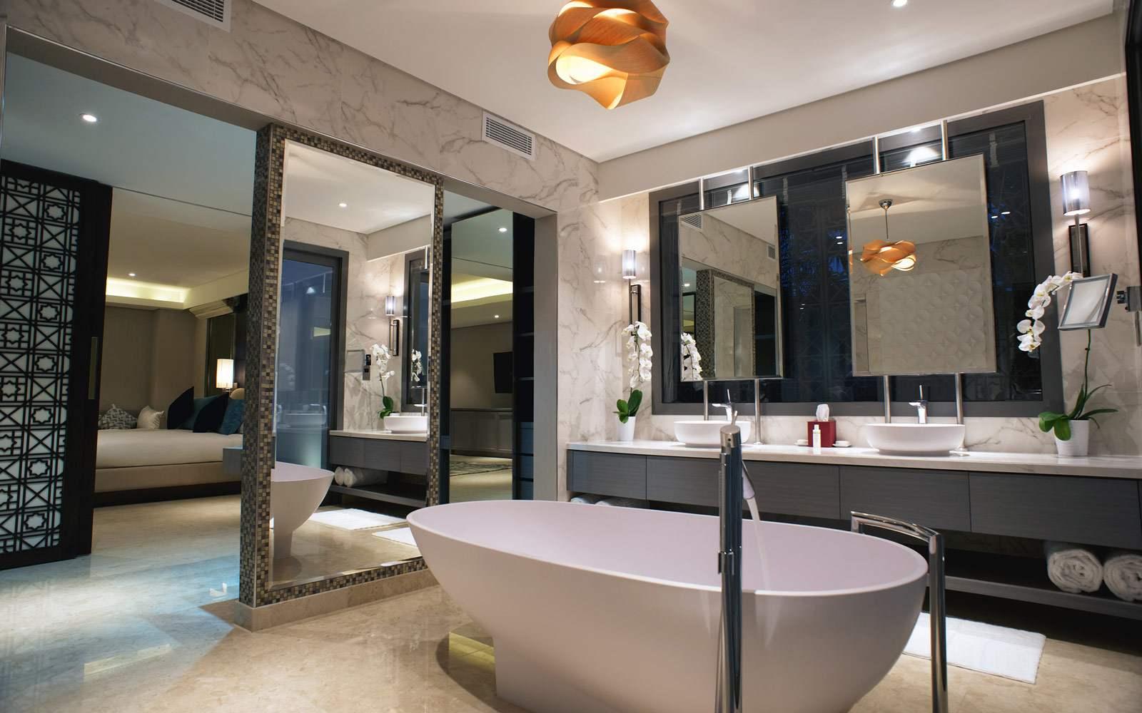 Melia Desert Villa Layali Bathroom