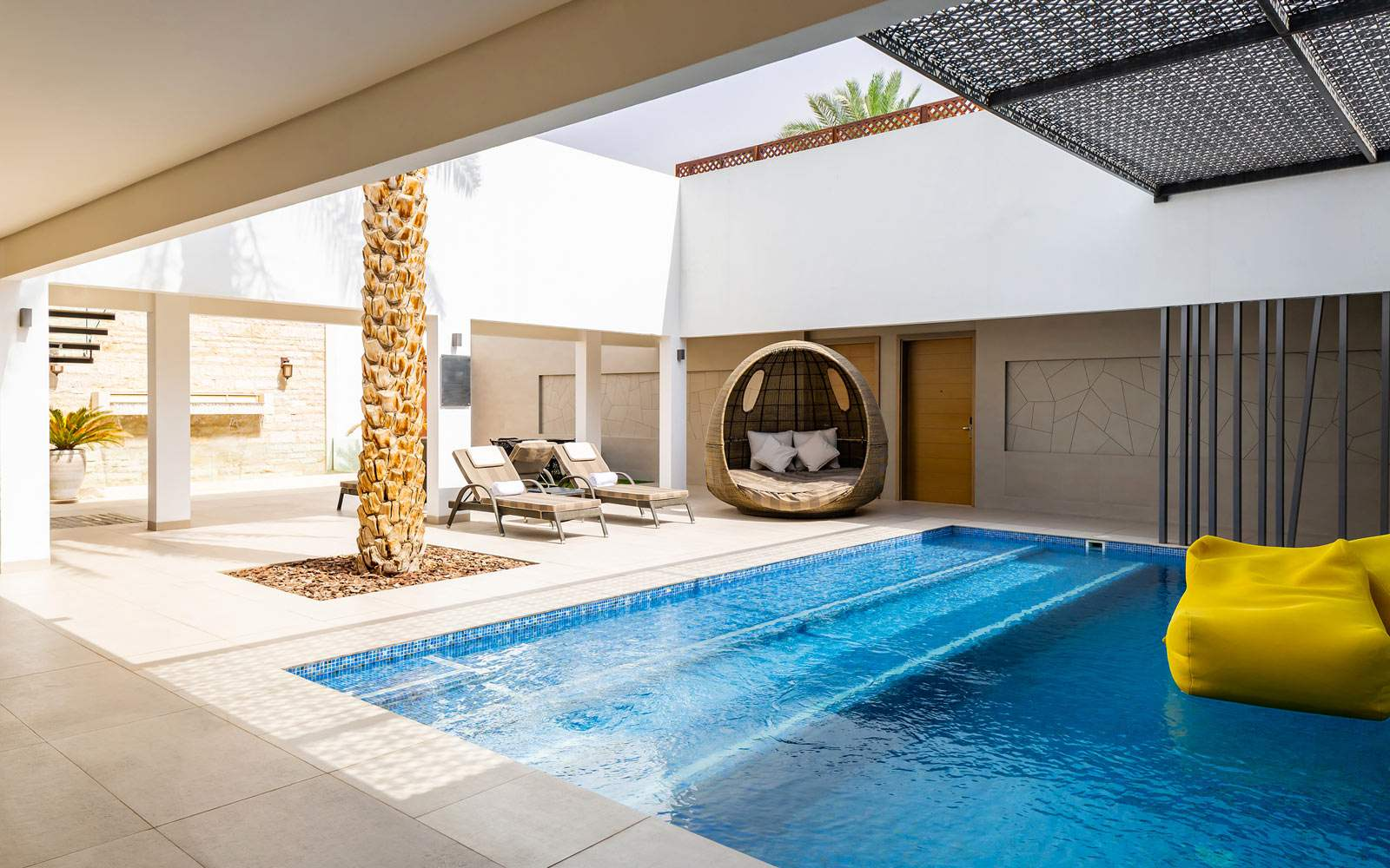 Melia Desert Villa Layali Private pool
