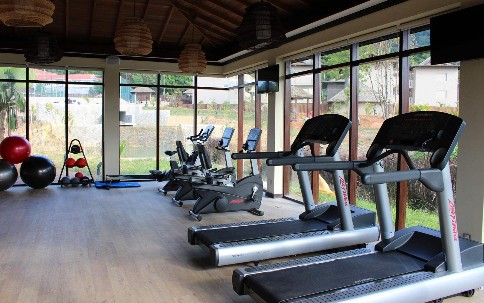 The H Resort Beau Vallon Beach - fitness centre