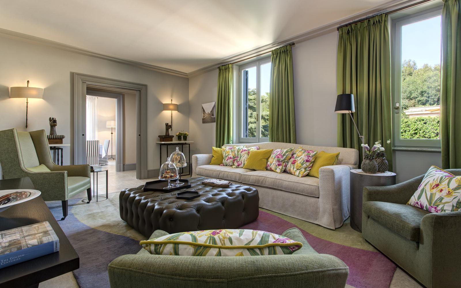 Hotel de Russie Nijinsky Suite Living Room