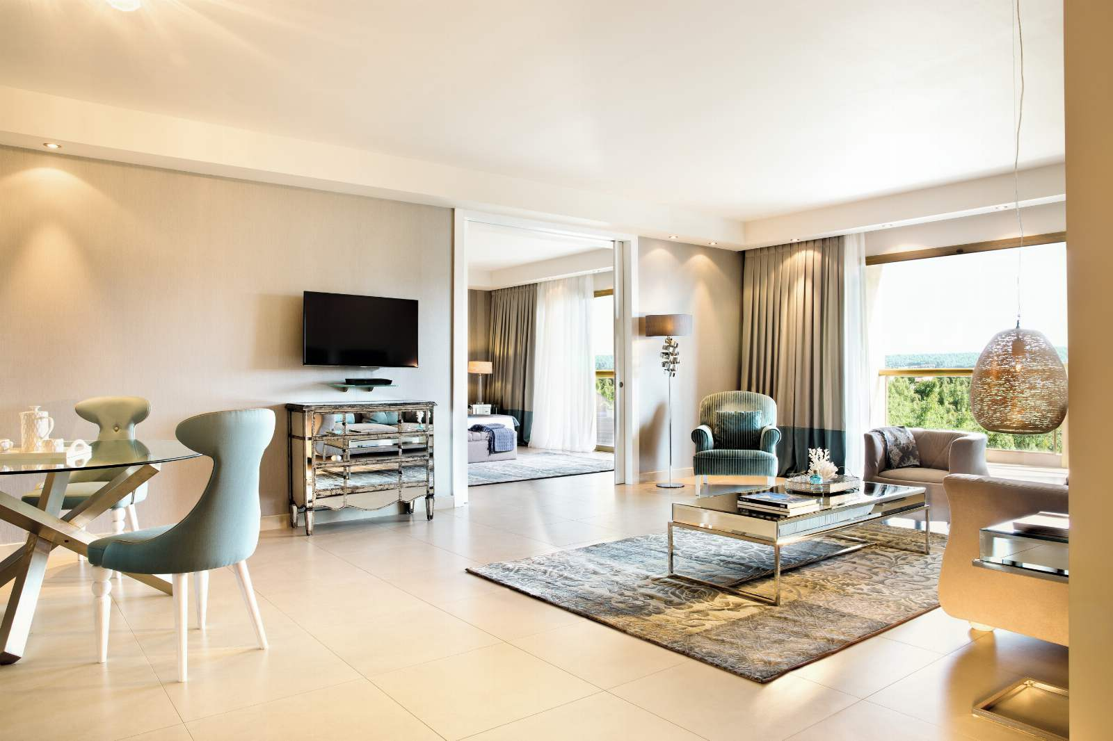 Sani Beach Deluxe Family Suite