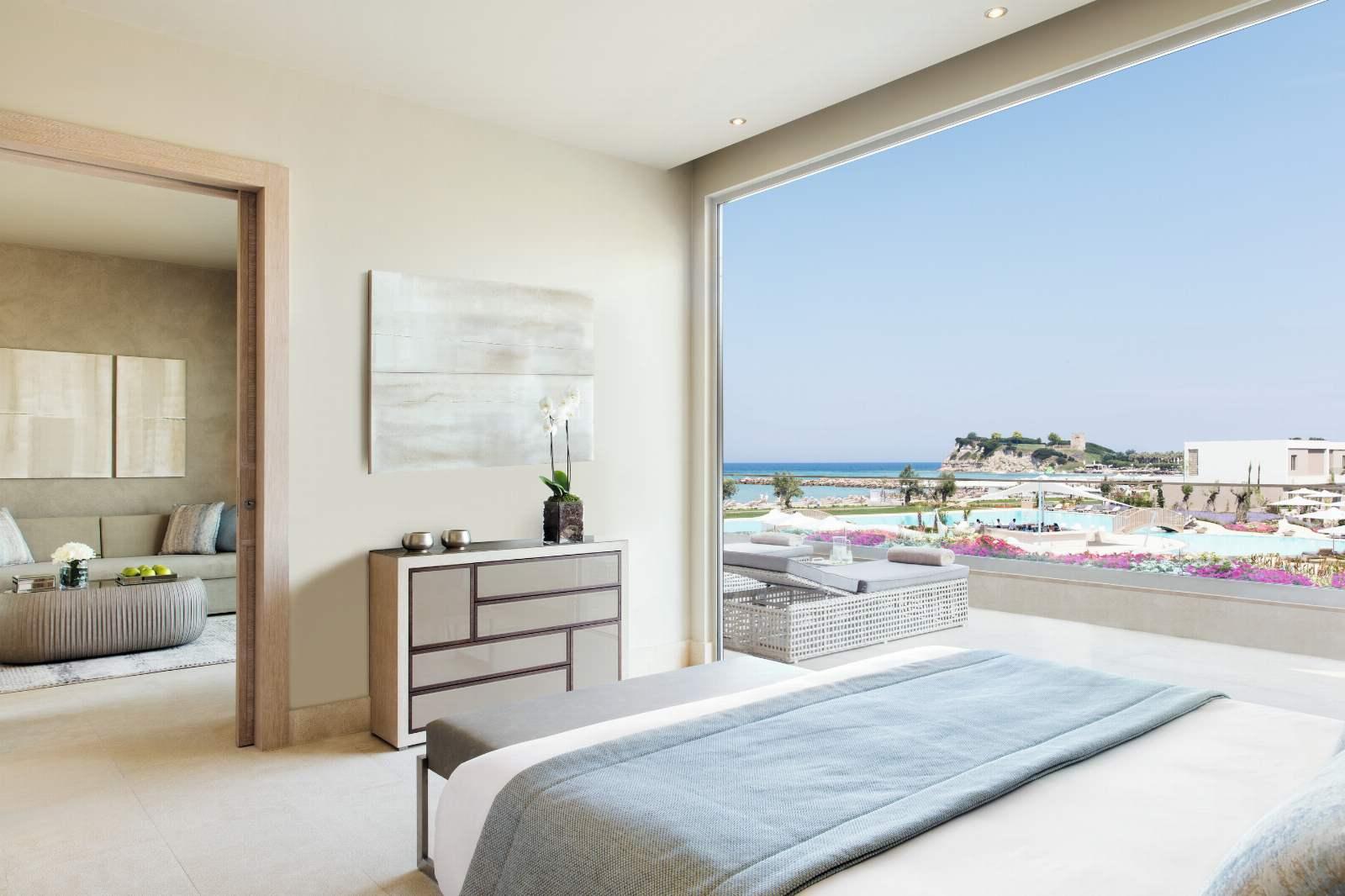 Sani Dunes Deluxe One Bedroom Suite Grand Balcony