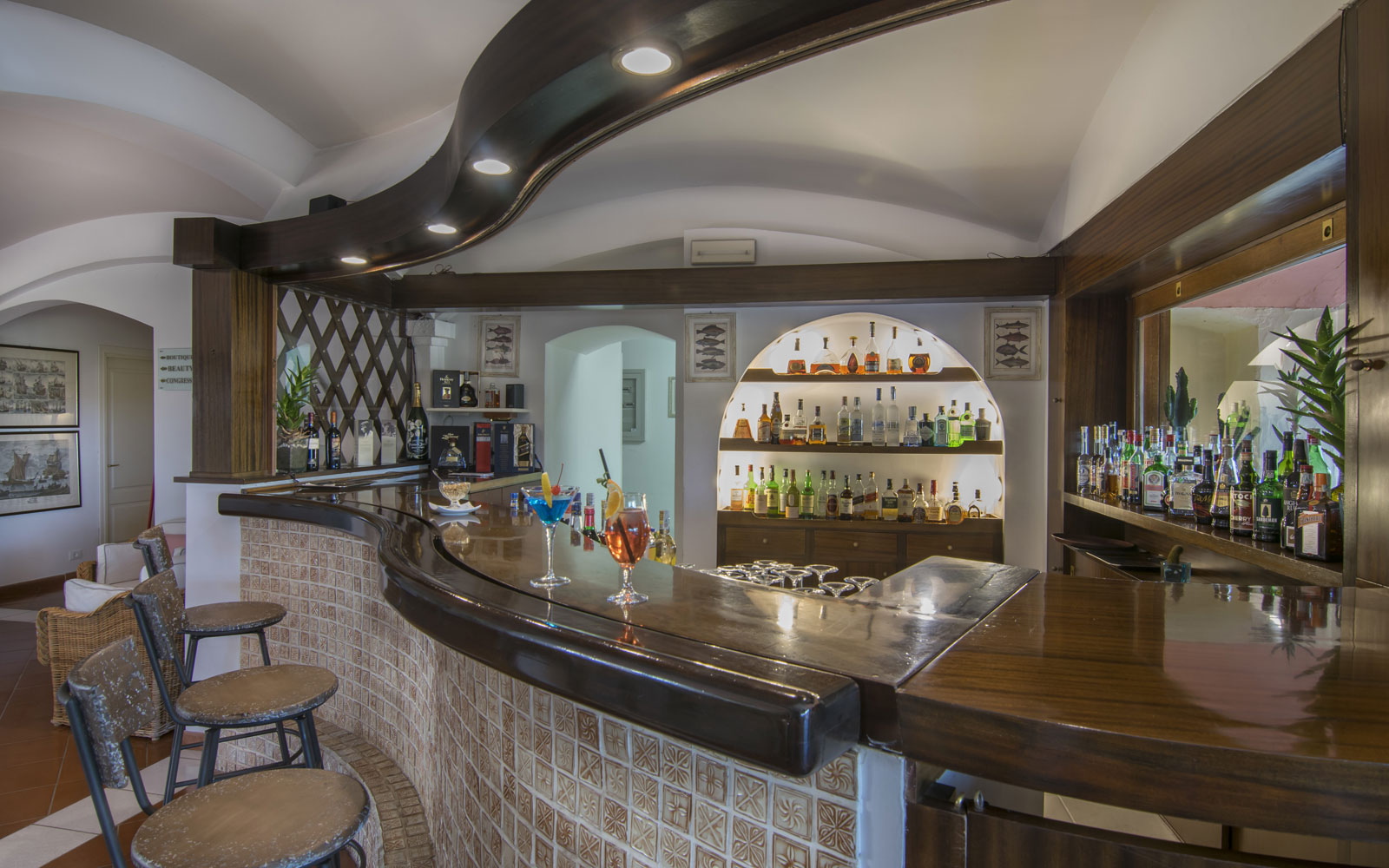 Hotel Le Ginestre Bar