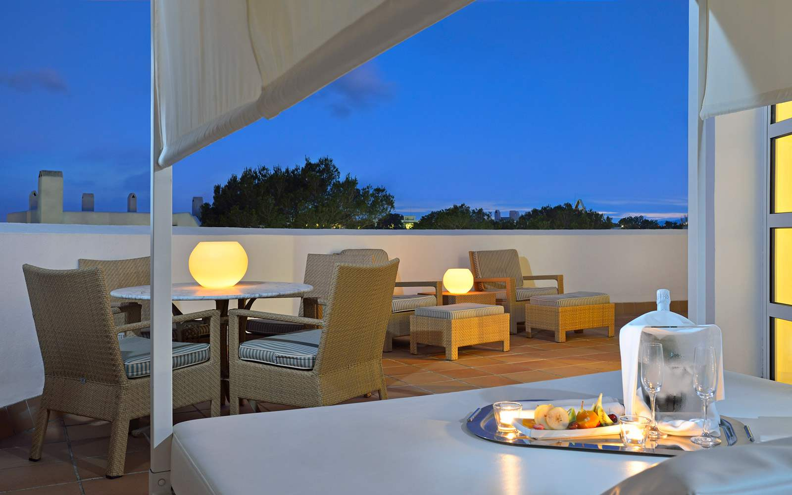 Private terrace Grand Suite - Melia Cala D'Or
