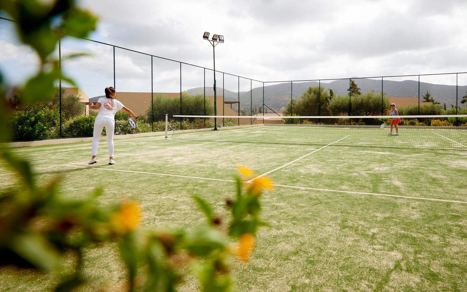 Village Heights Resort Tennis Court